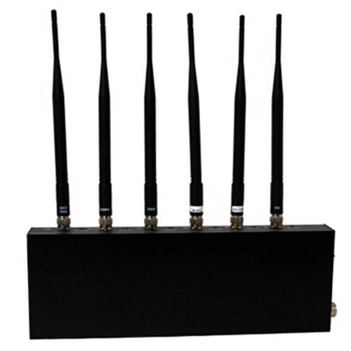 6 antenna gps cell phone rf signal jammer blocker - cell phone & gps jammer stores