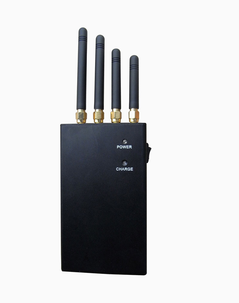 433 mhz signal jammer | 4 Band 4W Portable GPS Cell Phone Signal Jammer