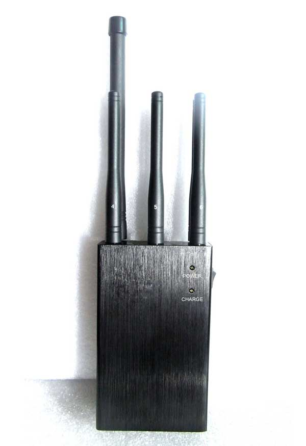 4g lte signal jammer , 6 Antenna Selectable Handheld WiFi GPS Lojack Phone Signal Jammer
