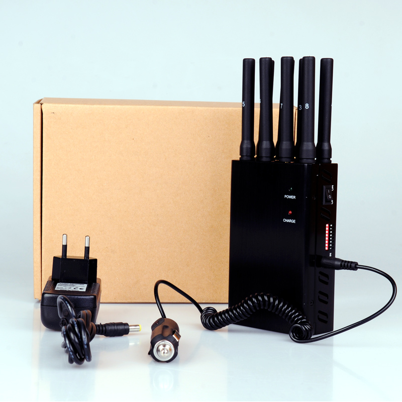 All frequency jammer | Portable Mobile Phone & GPS Jammer with Camouflage Cover