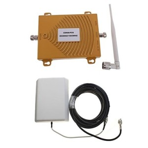 2w cell phone jammer - Dual Frequency CDMA/PCS/GSM/WCDMA Car Booster