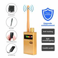 1MHz-8000MHz Radio Detection Anti Spy Signal Hidden Camera GSM Audio Bug Finder 4G GPS Signals Lens RF Tracker Detectors