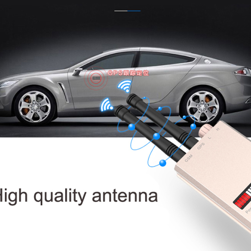 Wireless Scanner Signal GSM Device Finder RF Detector Micro Wave Detection Security Sensor Alarm Anti-Spy Bug Detect