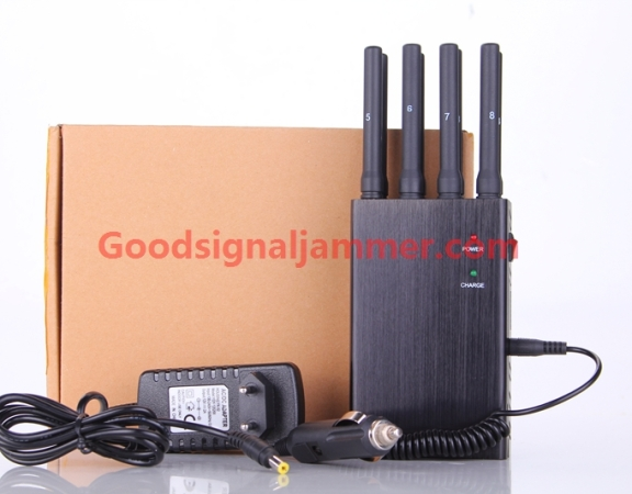 ALL IN ONE Terminator mobile signal jammer with 8 bands