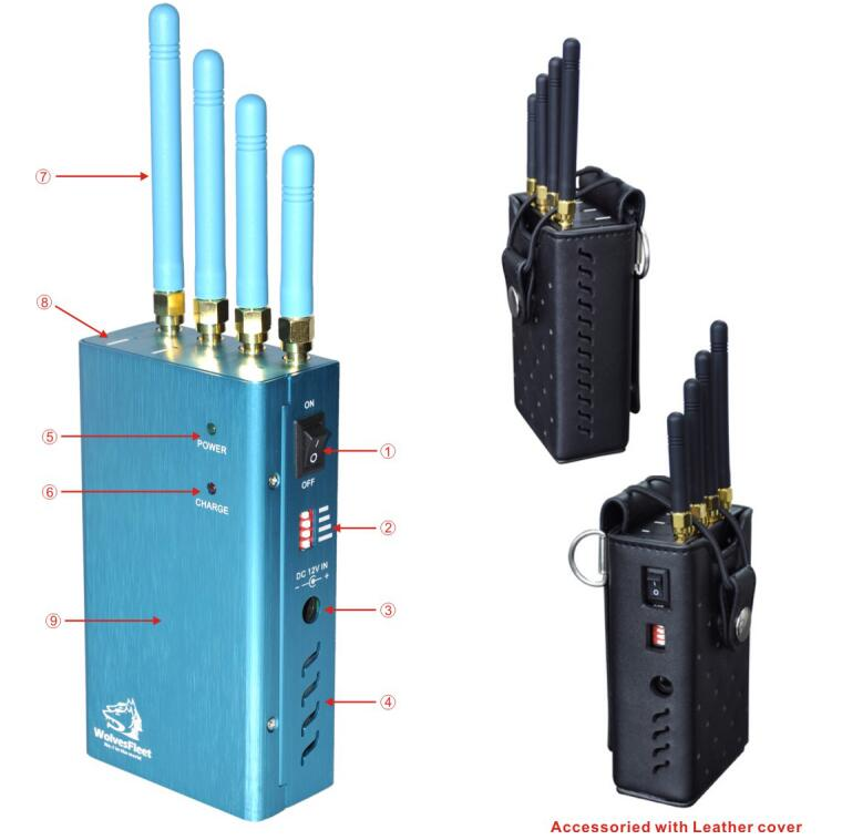 Cell phone jammer antenna - cell phone wifi jammer